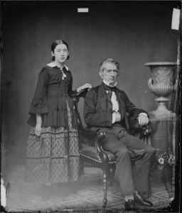 Hon._William_H._Seward,_N.Y._Secretary_of_State,_and_daughter_-_NARA_-_528357