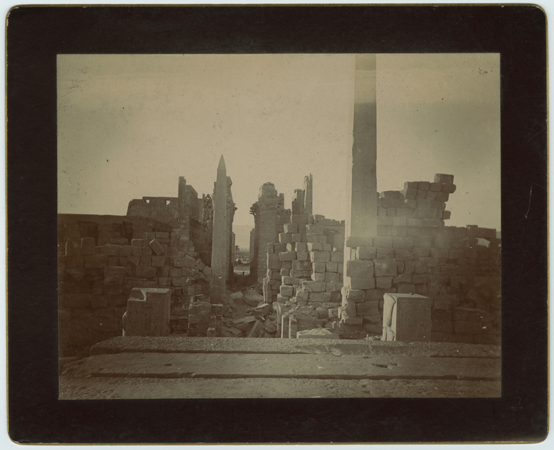 The Temple of Karnak.  Thebes. 1893