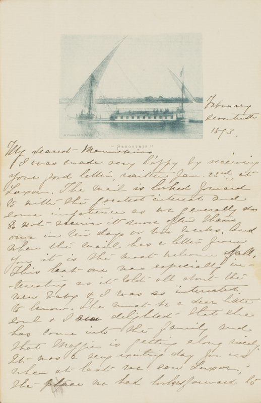 Letter from Emily Sibley Watson to Elizabeth Maria Tinker Sibley, February 17, 1893