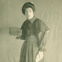 3290. Kataoka Ichimatsu in Gunjin Kishitsu (Kabukiza, March)