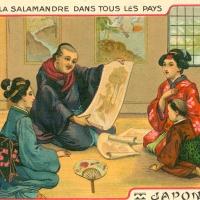 3382. La Salamandre dans tous le pays (Japon)