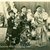2883. Japan - Children with Friendship Dolls
