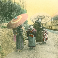 3511. [Children with parasols]