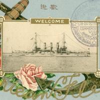 1789. Visit of the American Fleet