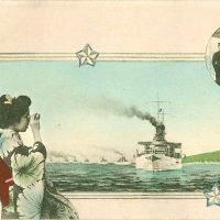 3389. The Great White Fleet's Visit to Japan (October 1908)
