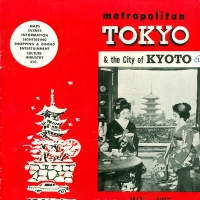 2848. Metropolitan Tokyo and the City of Kyoto (May 1957)