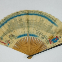3471. Souvenir Fan, The Centennial International Exhibition, Philadelphia (1876)