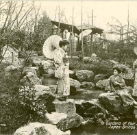 3005. In the Gardens of Fair Japan (Japan-British Exhibition, London, 1910)