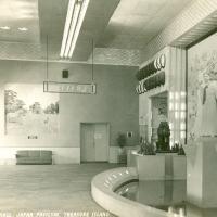 2125. Travel Hall, Japan Pavilion, Treasure Island (Golden Gate International Exposition, 1939)