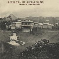 3158. Exposition de Charleroi 1911 - Vue sur  le village Japonais