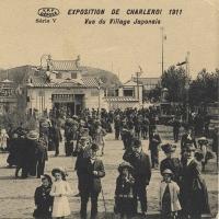 3159. Exposition de Charleroi 1911, Vue du Village Japonais