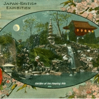 3395. Garden of the Floating Isle (Japan-British Exhibition, London, 1910)