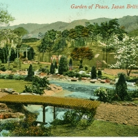 3398. Garden of Peach, Japan British Exhibition (London, 1910)