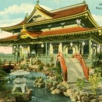 93. Japanese Tea House - The Panama-California Exposition, San Diego (1915-1917)