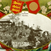 122. A Japanese Garden (Japan-British Exhibition, London, 1910)
