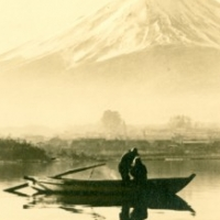 1239. Mt. Fuji Viewed from the Lake Kawaguchi