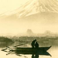 1239. Mt. Fuji Viewed from the Lake Kawaguchi