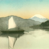 1240. Fuji from Hakone Lake