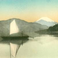 1240. Fuji from Hakone Lake