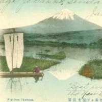 1243. Fuji from Ukishima