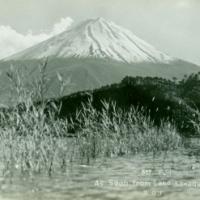 1244. Mt. Fuji as seen from Lake Kawaguchi