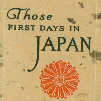 1930. Those First Days in Japan (1924)