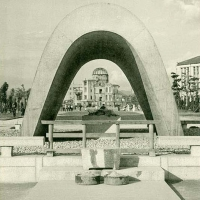 2929. The monument of those who were killed by A-bomb