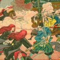 1341. Battle scene