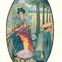 3309. A Pleasant Ride (copyright 1905)