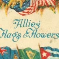 1032. Allies Flags & Flowers