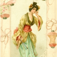 39. Japanesque lady (1902)