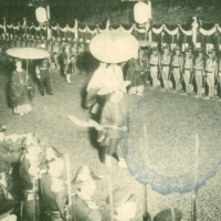 1359. Emperor Meiji funeral procession
