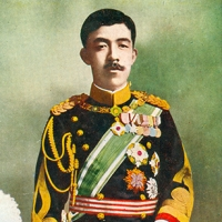 3263. Emperor Yoshihito in Naval Dress