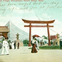 3409. Japanese Village, Wonderland, Revere Beach, Mass.