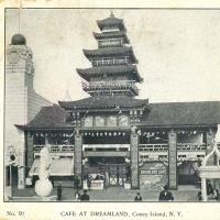 3411. Cafe at Dreamland, Coney Island, N.Y. (No. 50)