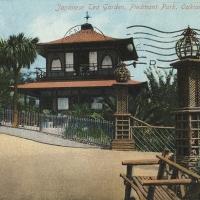 2871. Japanese Tea Garden, Piedmont Park, Oakland, Cal. (1909)