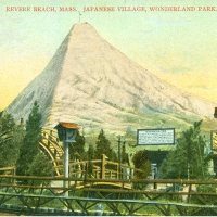 3416. Revere Beach, Mass., Japanese Village, Wonderland Park