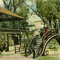 2792. Japanese Garden, Ontario Beach Park, N.Y.