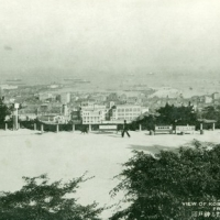 1374. View of Kobe Harbour from Suwayama Hill