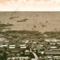 1381. Panorama of Kobe Harbor