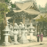3432. Temple Temzin at Kyoto (Kitano Tenmangū Shrine)