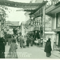 3359. A Snap of the Shin-Kyogoku Street, A Pleasure Resort, Kyoto