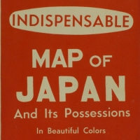 2079. Indespensable Map of Japan and Its Possessions [1940s]