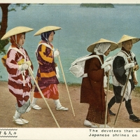 2333. The devotees that visit the whole Japanese shrines on foot