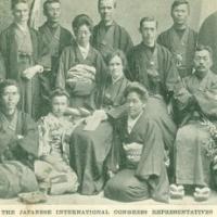 1477. The Japanese International Congress Representatives