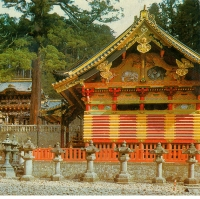 3107. Nikko Shrine: Front View of Yomei-mon Gate