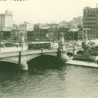 1405. Nambabashi Bridge and its Environs