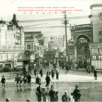 2762. Rakutenshi - Making the Great Popular Recreation Place at the Sennichimae, Osaka (RPPC)