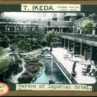3079. Garden of Imperial Hotel, Tokyo