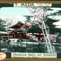 3080. Phoenix Hall of Byodoin Temple at Uji